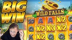 BIG WIN!!! Wild Falls BIG WIN!! Casino Slot from CasinoDaddy Live Stream