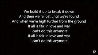 Yellow Claw Love War feat Yade Lauren Lyric Video
