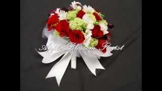 Wedding flowers #1 (Apple Blossom Florist) Oakland,CA
