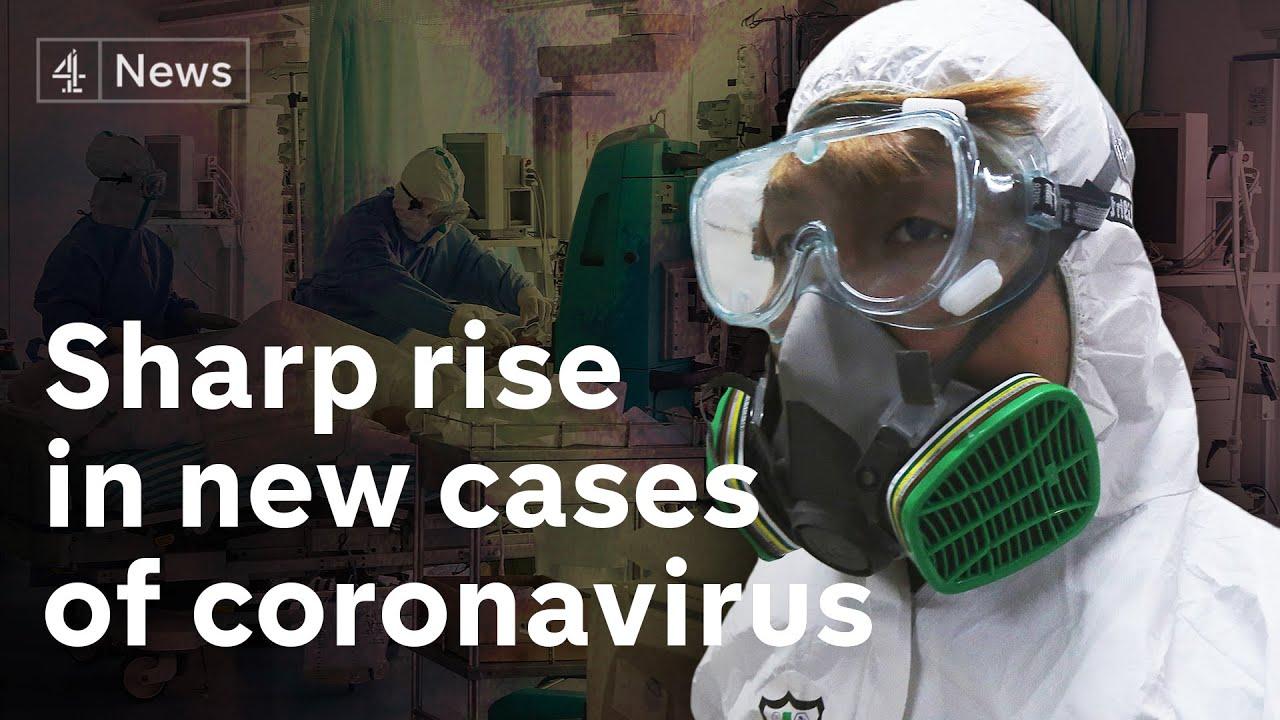 Sharp rise in coronavirus cases alarms world health officials thumbnail