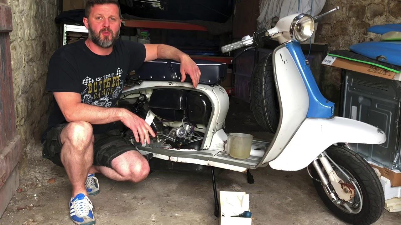 Targa Twin 275cc Lambretta 'Street Sleeper' scooter