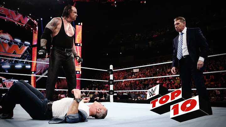 top 10 raw moments wwe top 10 march 14 2016