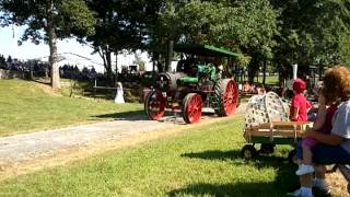 Georgetown OH Antique Farm Machinery Show 2011 Steam Engine Tractor Parade