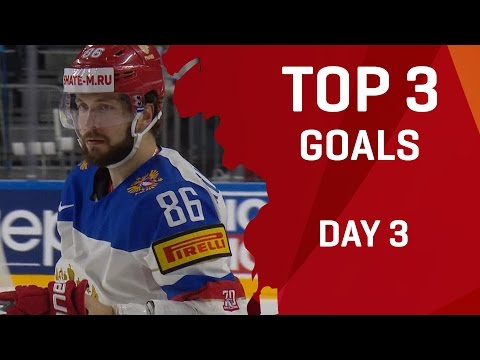 Top 3 Goals - Day 3 - #IIHFWorlds 2017 - 동영상