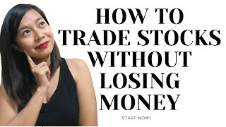 How To Trade Stocks Without Losing Money | Start Investing now!