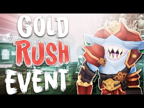 ARCANE LEGENDS - WANT TO GET INSANELY RICH? (GOLDRUSH EVENT😋!)!!
