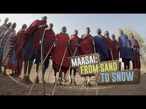 Maasai: From Sand to Snow. Kenya tribesmen visit Moscow.