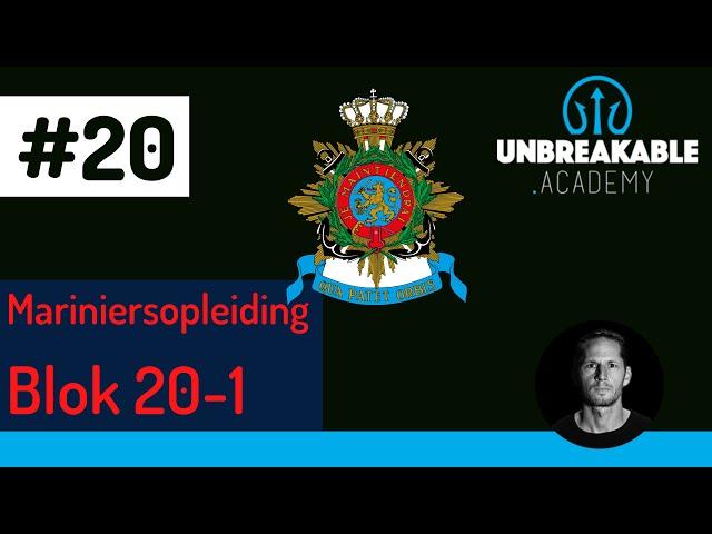 Speciale video voor MARINIERSOPLEIDING BLOK 20-01!