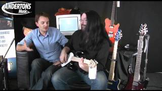 Sterling by Music Man Silo 30 & AX20 Guitars Demo - Part 1