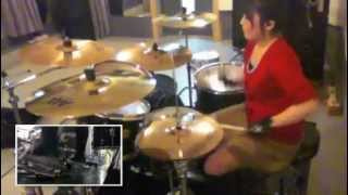 "Bullet For My Valentine ""Your Betrayal"" Drumcover - Fumie Abe -"