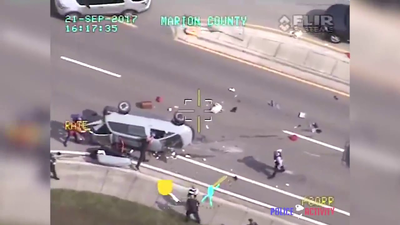 PoliceActivity! Police Stops Van Using PIT Maneuver During Chase in Ocala. Florida - YouTube