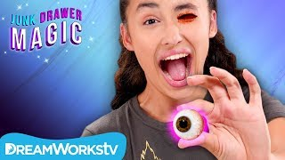 Scooping Out Your Eyeball | JUNK DRAWER MAGIC