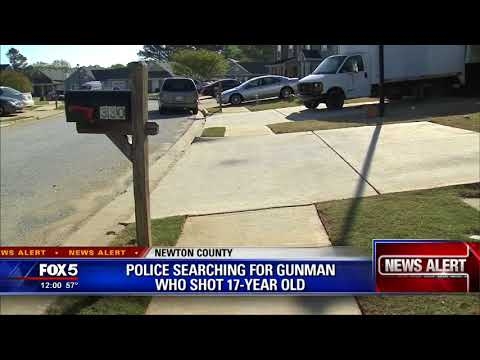 Teen shot in Newton County