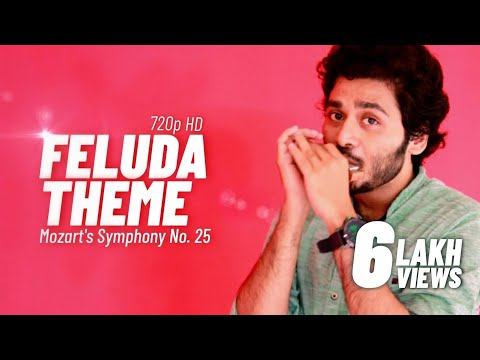 Feluda Theme | Titan Ad (Mozart's Symphony no 25) | Shuffle Beat - Harmonica - Gourab Das (gourabex)