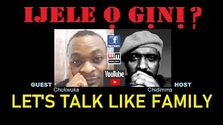 IJELE O GINI? : DISCUSSING BIAFRA AS A FAMILY