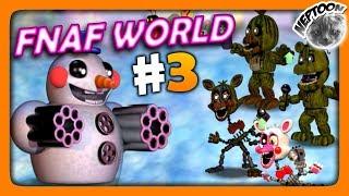 FNaF World (Мир ФНАФ) Прохождение #3 ✅ СНЕЖНЫЕ ПОЛЯ!