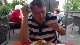 Салат с тунцом. Локарно , Швейцария