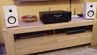 Yamaha R-N602 + Yamaha NSBP182 Speakers - tryb PURE DIRECT