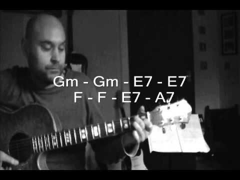 You know I'm no good (Trouble) By Amy Winehouse - Guitar Tutorial With Ben Golding