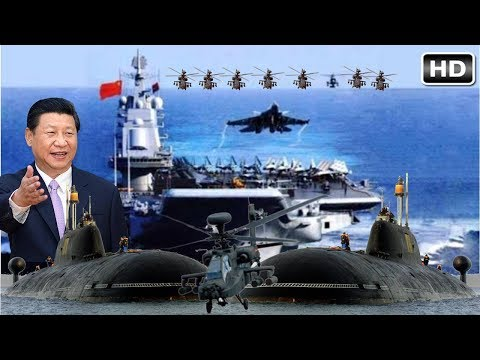 CHINA Naval Power 2017 - Show Off Brutality Weapons, The BIG PROBLEM for Trump Armada