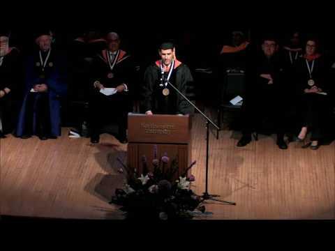 2016 Northwestern Engineering PhD Hooding Ceremony