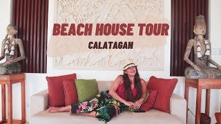 BEACH HOUSE TOUR IN CALATAGAN | Andrea Del Rosario