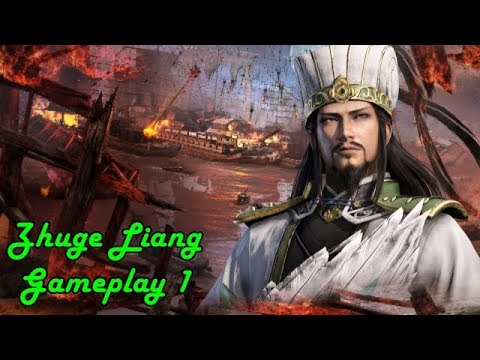 Dynasty Warriors 9 Shu Story Zhuge Liang Gameplay Stream 1