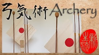 Archery with blunts - Wooden eggs - Hankyu bow - Destroy wood target