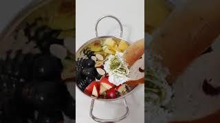 과일그릭요거트 만들기 …