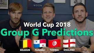 WORLD CUP PREVIEW - GROUP G - England / Belgium / Panama / Tunisia