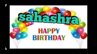 Sahasra birth day