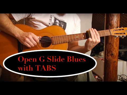 Open G slide blues on a 1927 Levin parlor guitar