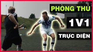 🔥 CÁCH PHÒNG THỦ 1 VS 1 ĐỐI ĐẦU TRỰC DIỆN ⚔️ | D19 FOOTBALL [VIETSUB]