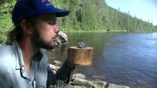 Fire Blower, Bowl and Wild Edibles in Canada