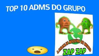 Download Top 10 Adms do Grupo Laranjo Maquina de Memes 😱(zap zap)