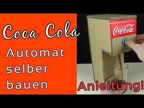 Cola Automat Selber Bauen Funktioniert 100 Einfache
