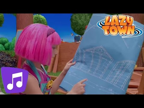 Lazy Town | Step By Step Music Video
