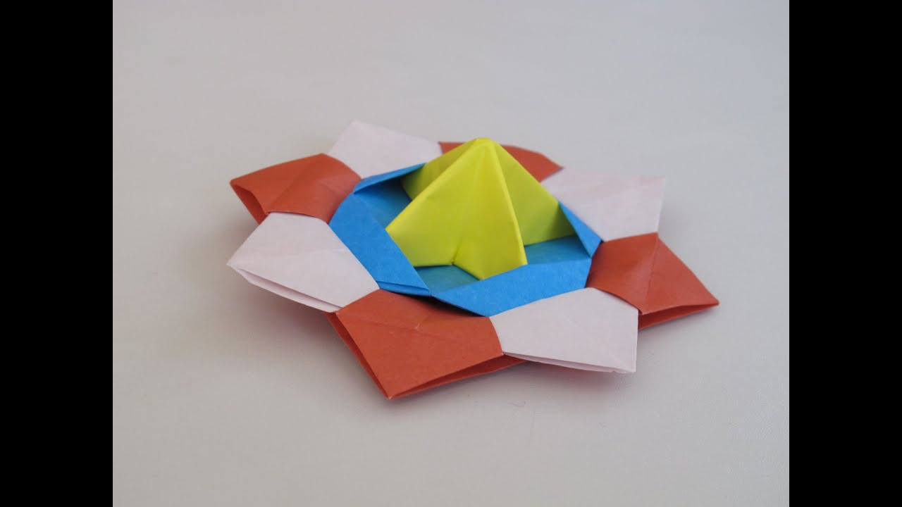Origami How To Make A Spinning Top Youtube Diagram Dinosaur Create Stunning Models On Your
