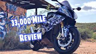 2016 BMW S1000RR Review after 33,000 Miles