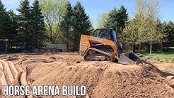 Case TR310 Building Horse Arena