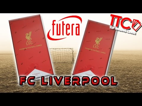 Live Futera UNIQUE LIVERPOOL Edition Full Box Unboxing Opening