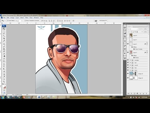 Tutorial Sederhana bagaimana tracing logo Visit http://plagiart.com..