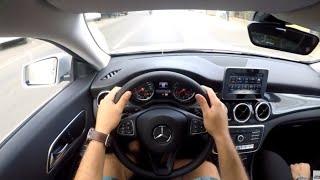 Test Drive Mercedes Benz CLA 180 2018 - POV