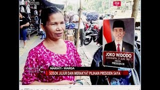 Ibu-ibu Warga Pasar Senen Dukung Sosok Presiden Jokowi - Special Report 26/07