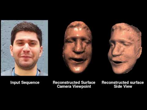 A. Roussos: Computer Vision Research Demo Videos