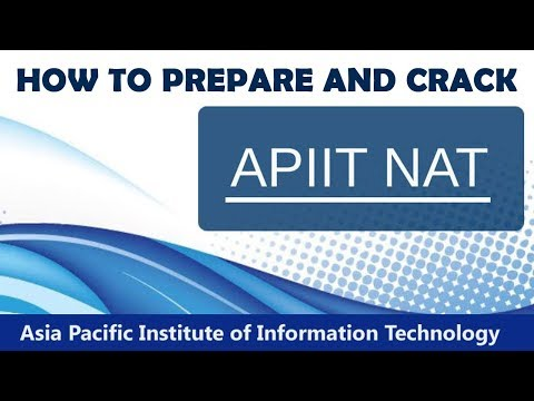 How to Prepare and Crack APIIT NAT?