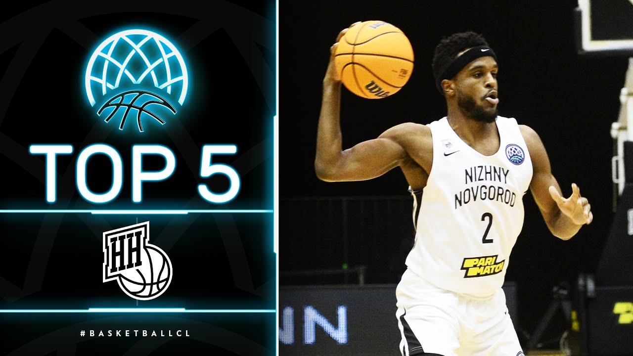 Top 5 Plays | Nizhny Novgorod | Basketball Champions League 2020/21