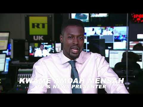 Kwame Amoah Mensah TV & News Presenter Official Showreel .