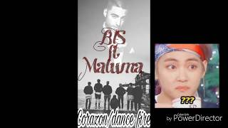 Esto pasaria si Maluma colabora con BTS