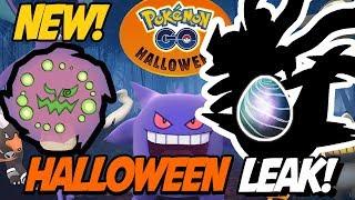 HALLOWEEN EVENT LEAKED! Pokemon GO Halloween Event Leaks! New Pokemon Spiritomb and More!